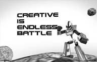 网站欣赏:CREATIVE IS ENDLESS BATTLE
